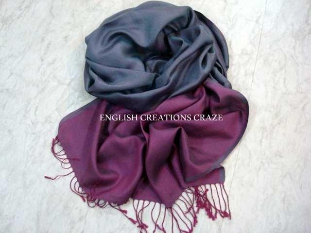 Modal Ombre Dyed Uni Color Scarves - Modal Ombre Dyed Uni Color Scarves