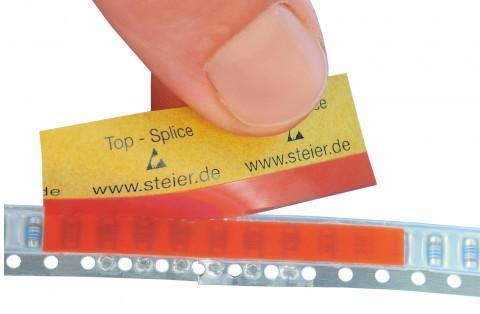 TOP-Splice, ESD safe, orange 4,3 x 40 mm - TOP-Splice made from Steierform 87-20187