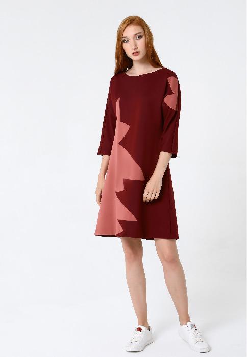 Women's dress - Women dress '' MARA '' PO5816-0814