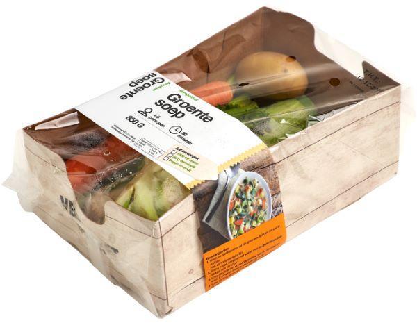 Banding vegetable box -