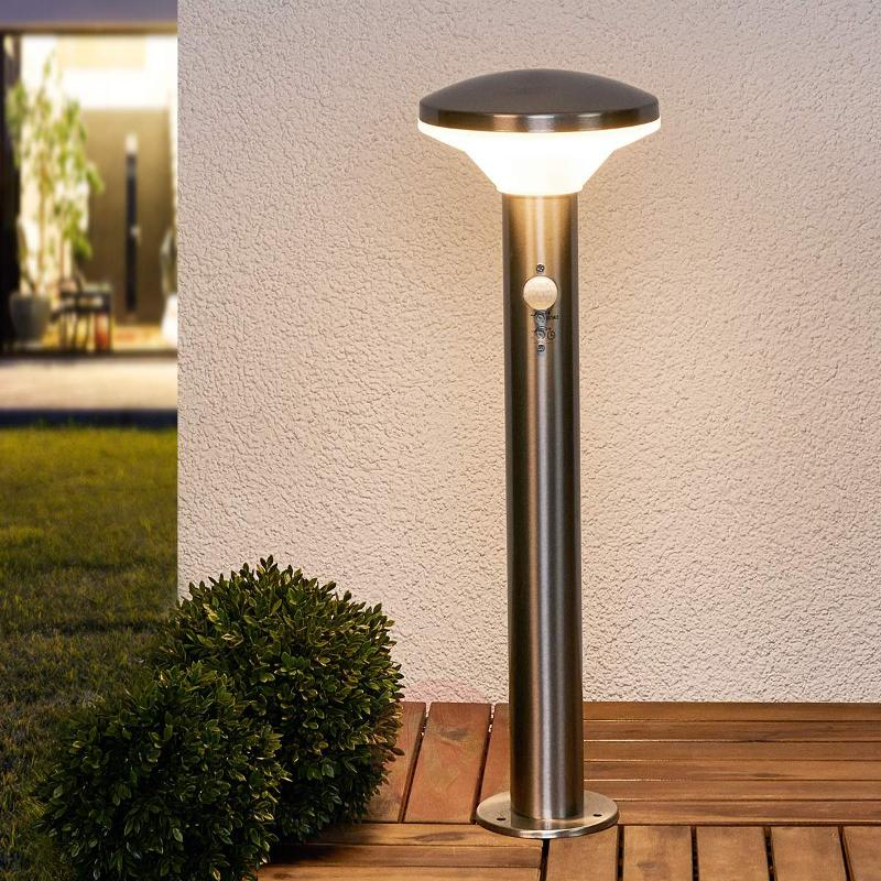 LED pillar light Jiyan including motion detector - Pillar Lights with Motion Sensor