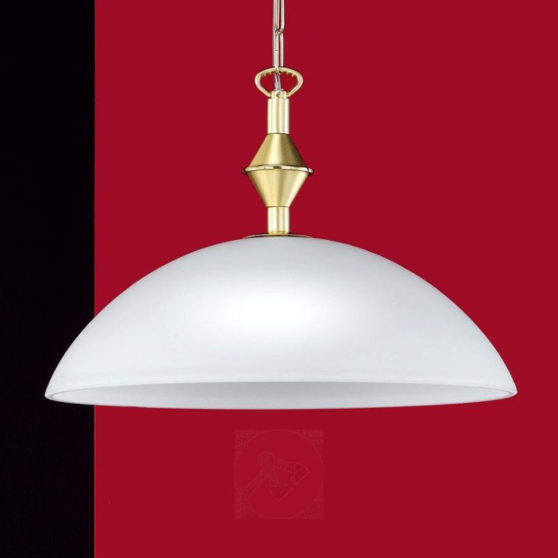 Amsterdam Hanging Light Decorative Matte Brass - design-hotel-lighting