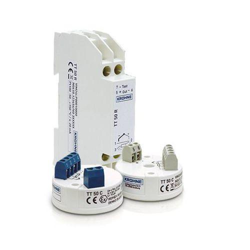 OPTITEMP TT 50 - Transmisor de temperatura en riel DIN / de resistencia / HART