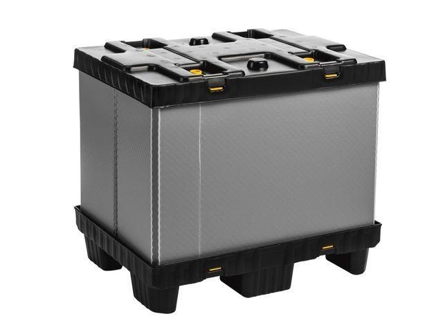 Faltbarer Großbehälter: Mega-Pack 800 - Faltbarer Großbehälter: Mega-Pack 800, 800 x 600 x 700 mm