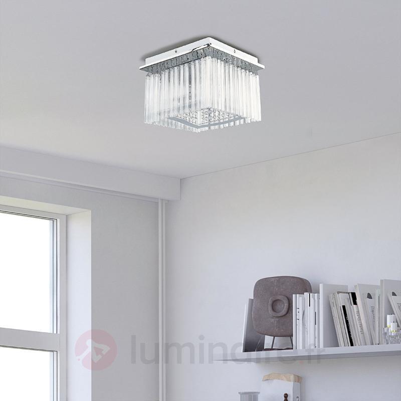 Karlo - plafonnier LED à pendentifs en acrylique - Plafonniers LED