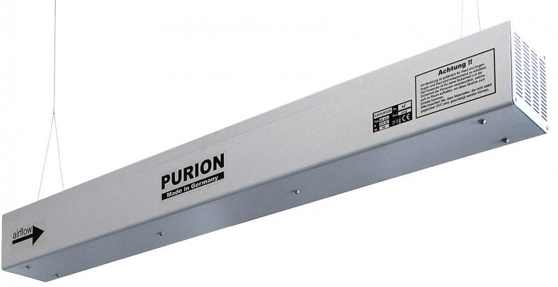 AIRPURION 90 active - UV plant for air disinfection in a closed system with integrated air circulation