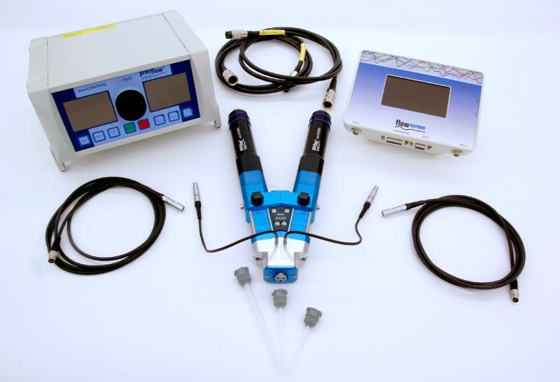 Volumetrisches Dosiergerät eco-DUO600 - Volumenstrom 0,6 bis 32,0 ml/min / für viskose Medien