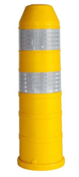 Sustainable spring post yellow - 750 x 200 mm (excl Bolt) - SIPLBAGE