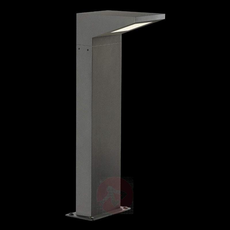 Iperi Futuristic LED Pillar Lamp, Anthracite - Pillar Lights