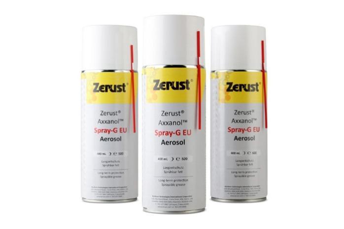 Zerust Axxanol ™ - Aerosol anticorrosión (Spray-G) Latas de aerosol de 400 ml