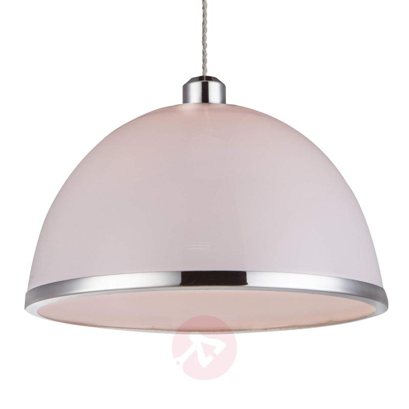 Hanging light Maila, opal lampshade - indoor-lighting