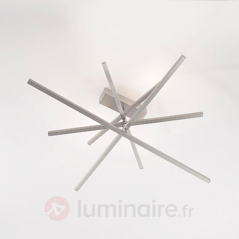 Vera - Plafonnier LED dimmable, nickel mat - Plafonniers LED