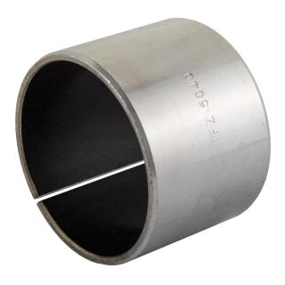 Wrapped composite dry sliding bearing steel / PTFE
