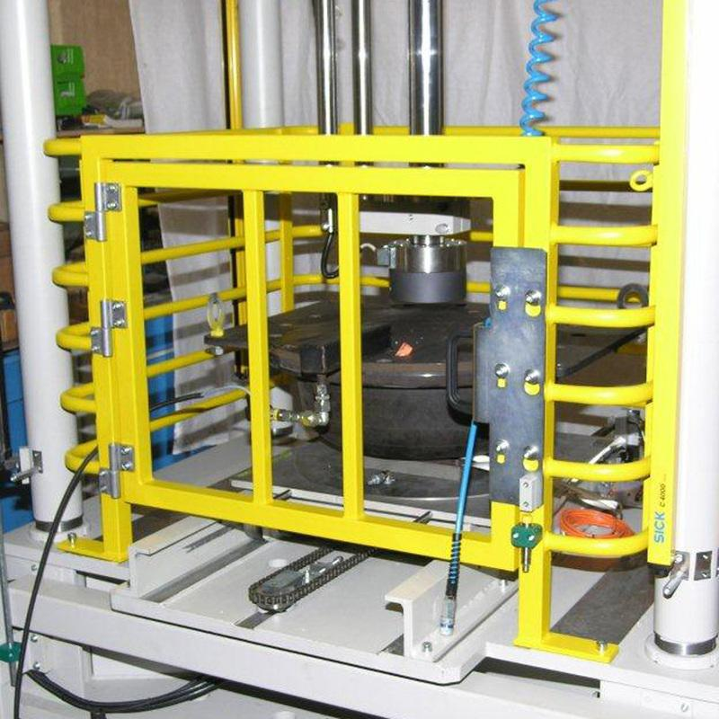 Air spring test machine - Railway technology