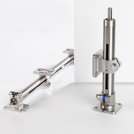 Asse lineare - E-II in acciaio inossidabile  - Asse lineare a tubo semplice