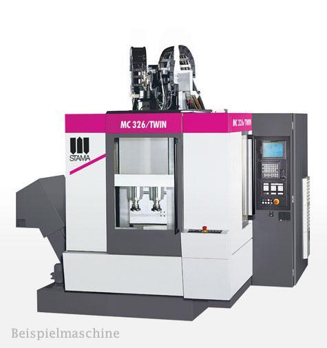 Bearbeitungszentren - STAMA MC 326 Twin