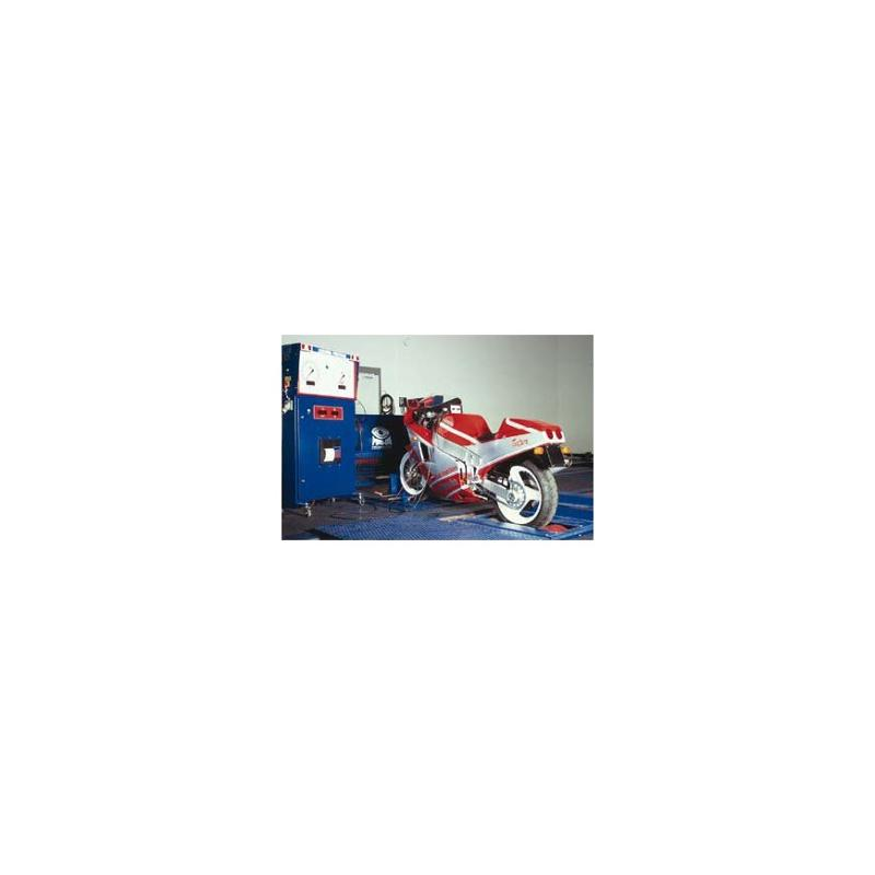 Banc de puissance Maha LPS 3000 moto - Freins et suspension