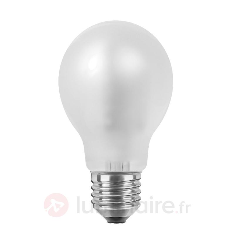 Ampoule LED à filament E27 4W 926 variable, mate - Ampoules LED E27