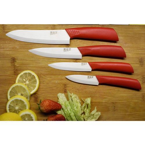 Керамический Нож - Дизайнерская цветная мягкая ручка