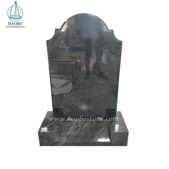 Natural Stone Monument Serp Top Headstone - Tombstone Sets