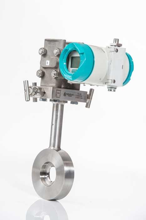 Orifice-based compact flowmeter