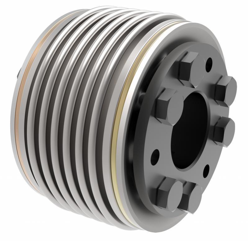 Metal bellows coupling KSD - Metal bellows coupling KSD with conical hub on both sides
