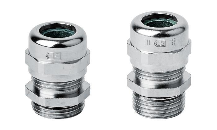 PERFECT pressacavi in ottone metrico - PERFECT pressacavi in ottone nichelato con filetto metrico M12 - M63