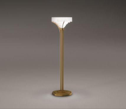 Art deco floor lamp - Model 38