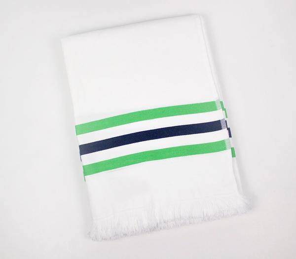 Toalha de praia  - Toalha de praia com fundo branco