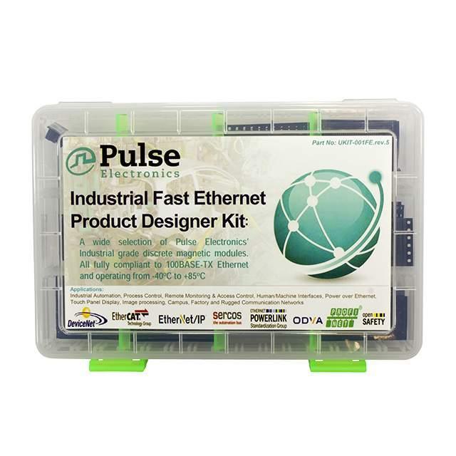 KIT ETHERNET 100B-TX INDUSTRIAL - Pulse Electronics Network UKIT-001FE