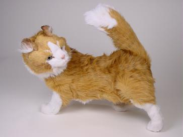 2380 - Standing maine coon cat cm.60