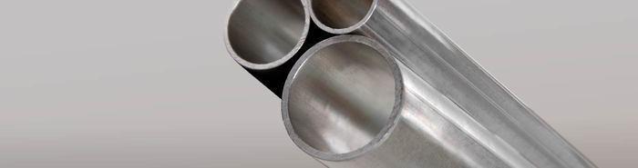 Aluminium round tubes -