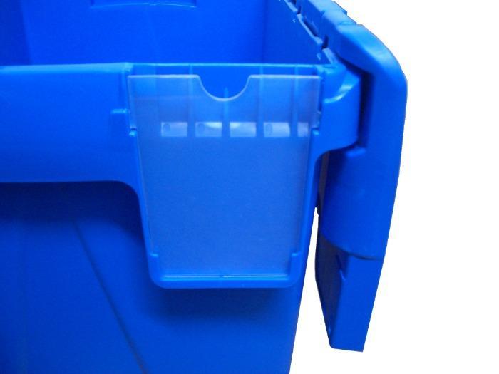 Cajas de distribución con tapas integradas -