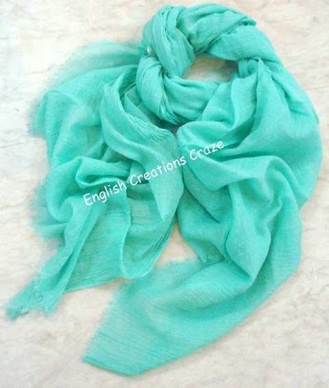 Cotton Solid Color Scarves - Cotton Solid Color Scarves