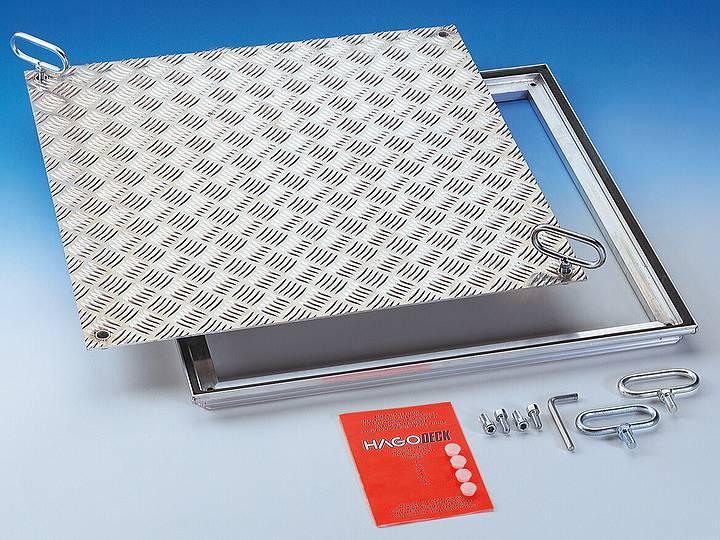 RVA Aluminium Sealed cover - Sealed cover