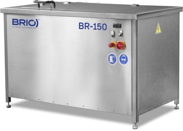 BR-150  - Máquina de limpieza por ultrasonidos manual de 150 L