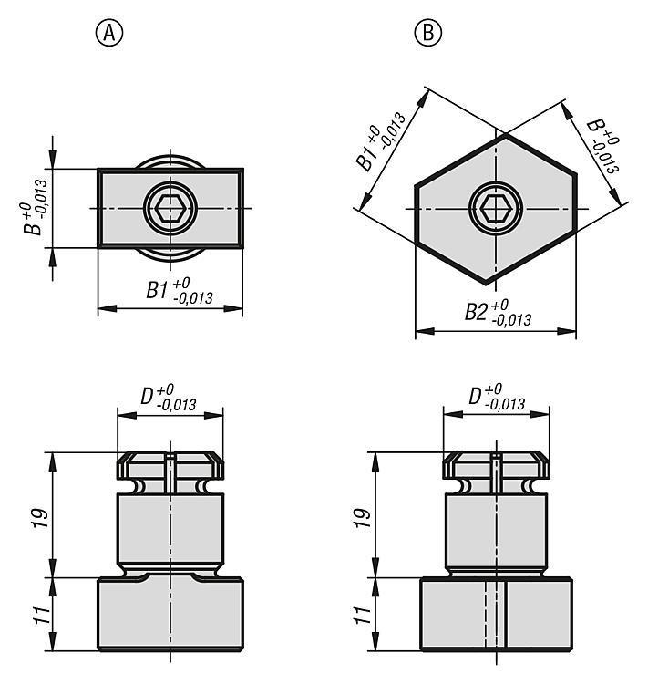 Lardon expansible - Cimblots, systèmes de positionnement