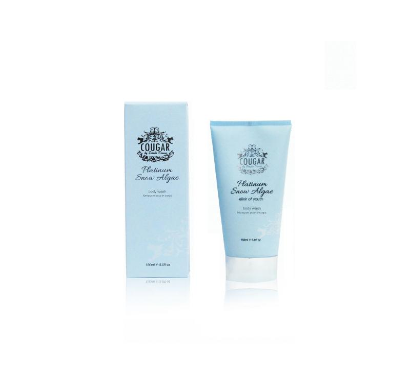 Cougar Beauty Snow Algae body wash Made in the UK