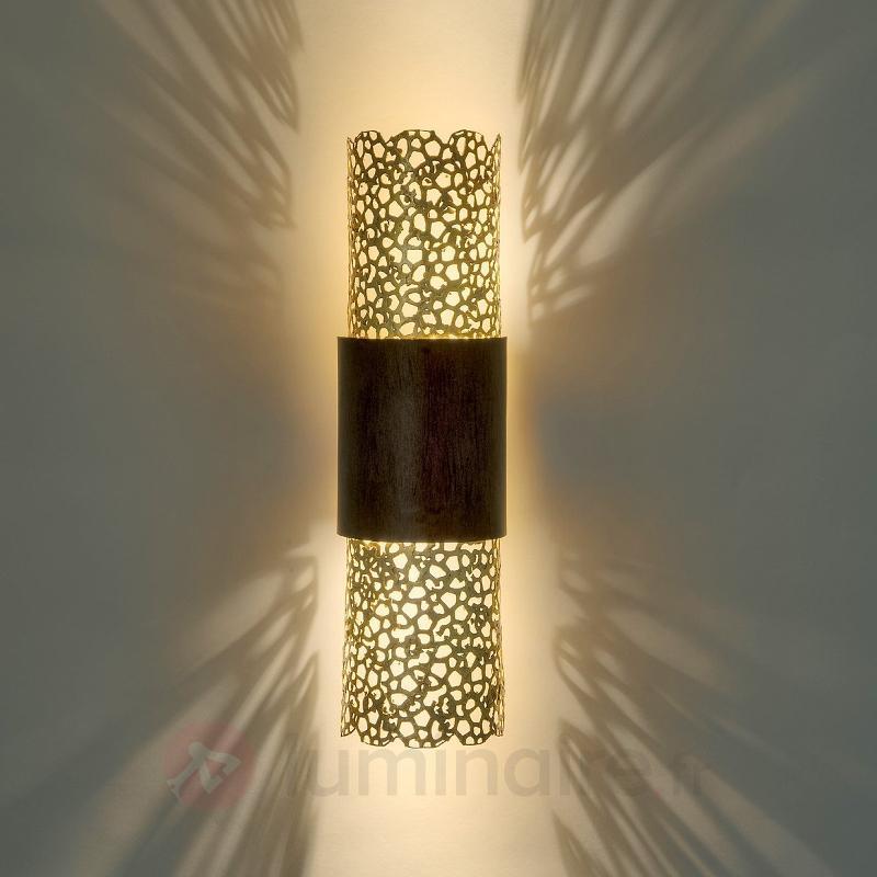 Applique Palazzo à deux lampes - Appliques en laiton/dorées
