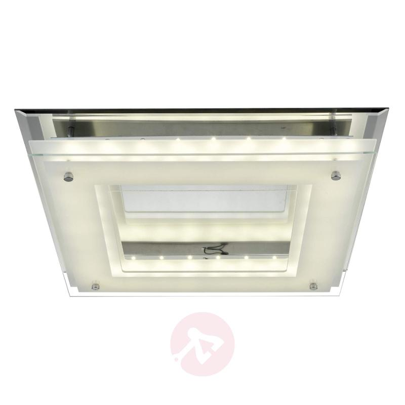 Square LED ceiling light Layer - indoor-lighting
