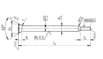 Schneidstempel - Schneidstempel DIN 9861
