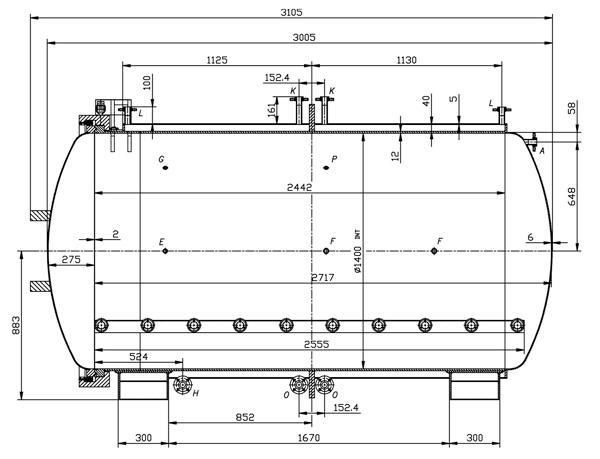 Autoclave - Planos completos para fabricar el equipo de 4000 litros.