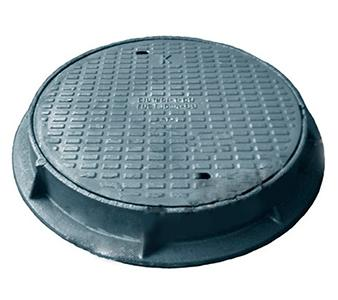 Medium weight manhole S (В125) - Medium weight manhole S (В125) GOST 3634-99