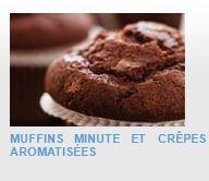EN-CAS HYPERPROTEINES ET HYPOCALORIQUES A RECONSTITUER - Muffins minute et crêpes aromatisées