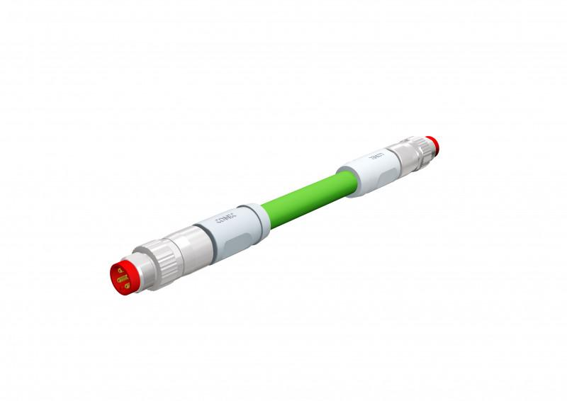 M8x1 Steckverbinder umspritzt EtherCAT P - M8x1 Steckverbinder umspritzt EtherCAT P