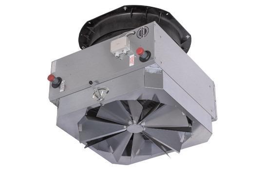 Luchtverhitter TOP - Luchtverhitter als wand- en plafondapparaten