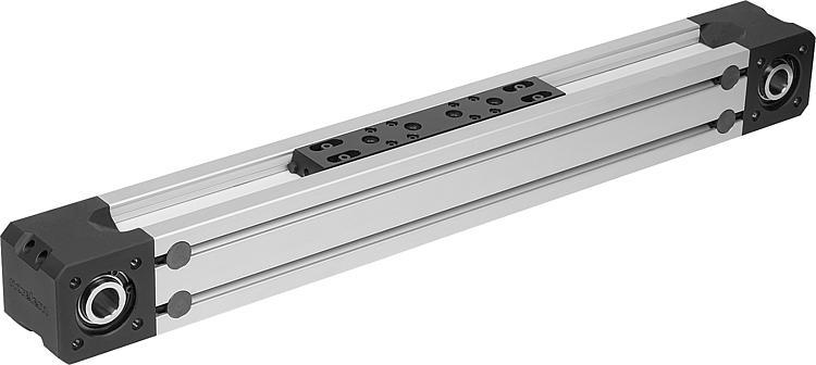 Linear actuators with toothed belt drive and profile... - Linear and gantry modules, electric