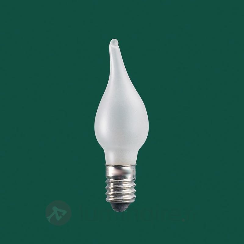Ampoule de rechange flamme dans le vent E10 8-34V - Ampoules à l'unité