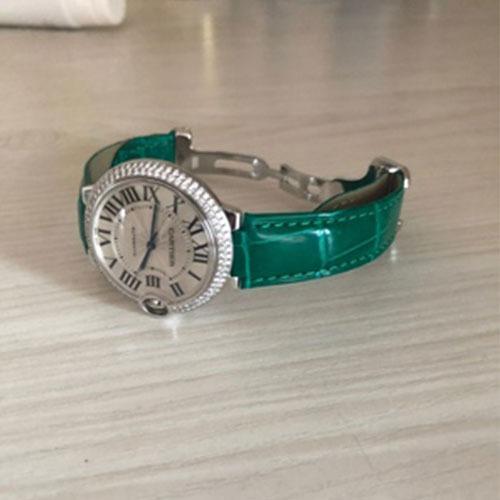 Cartier Ballon Bleu Alligator Watch band Replacement - Alligator Watch Band