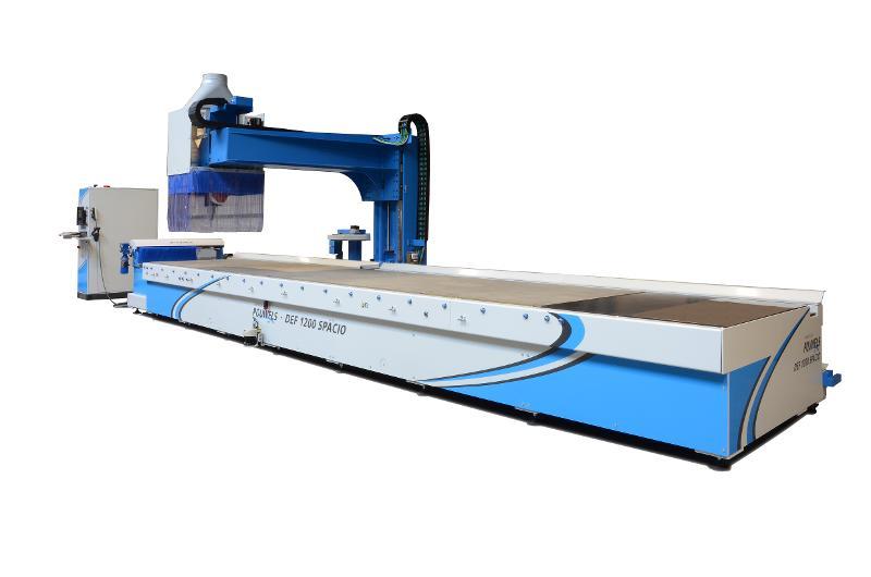 CNC Commande numérique - CNC 1200 Spacio 5 Axes interpolables